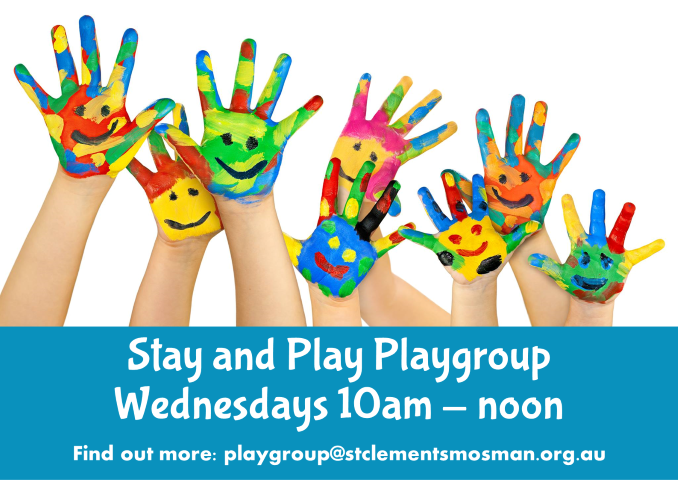 Stay and Play Wed 10am